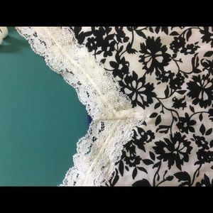 Print camisole top with shelf bra .